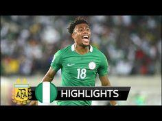 d3540d58337 Argentina vs Nigeria - All Goals   Extended Highlights - Friendly HD Goals   Ever Banega Aguero Iheanacho