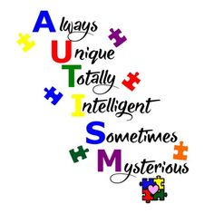 Autism behavior management, Indicators & Signs and also Early treatment assistance expertise for young moms and dads Autism Awareness Crafts, Autism Awareness Quotes, Autism Quotes, Autism Awareness Month, Autism Crafts, Disability Awareness, Autism Signs, Thoughts, Messages