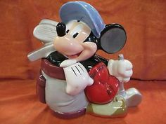 Mickey Golfer Limited Edition of 350 Cookie Jar by Disney Auctions