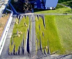 L'enfance du pli « Landscape Architecture Works Landscaping Supplies, Landscaping Software, Garden Landscaping, Contemporary Landscape, Urban Landscape, Landscape Art, Watercolor Landscape, Landscape Paintings, Landscape Design Plans