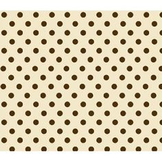 SheetWorld Fitted Bassinet Sheet - Brown Polka Dots Cream Woven, Multicolor
