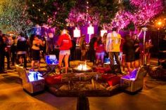 After a move to Las Vegas, Maxims annual Hot 100 event returned to Los  Angeles this year. Taking over SBEs newest property, Create (formerly  Vanguard), the Visionary Group transformed the raw space into an ode to  American summer nights. Outside, the patio had a bonfire built into a  real sandpit.