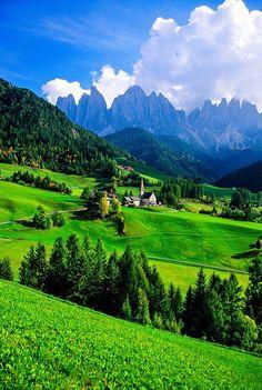 St. Magdalena ~ Dolomites, Sudtirol region, Italy