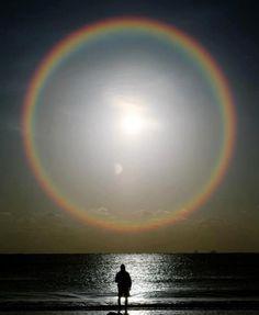 An Entire Rainbow! Sunrise Sunplosion!