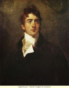 Sir Thomas Lawrence. The Hon. William Lamb, MP (Later Lord Melbourne) (1779-1848), married to Caro Lamb.