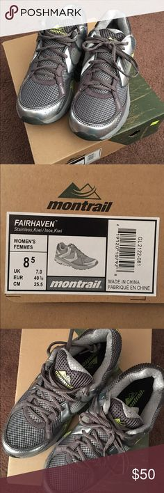 Montrail trail runner shoes size 8.5 Brand new Montrail Fairhaven trail runners. Size 8.5. Great shoes for hiking or running on rocky terrain. Shoes Athletic Shoes