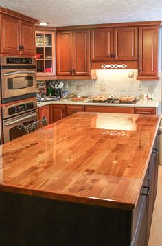 Countertops Made By Putting Down Plywood With Fabric On