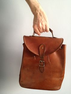 I have a weakness for brown leather, ever since my beautiful friend Emma (a f3c6e188f1