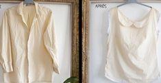 Transformer une vieille chemise en joli haut