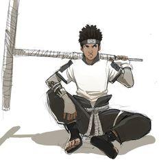 Tii: The Razor Wind Shinobi by NexusYuber on DeviantArt Naruto Art, Anime Naruto, Anime Guys, Naruto Oc Characters, Black Anime Characters, Character Concept, Character Art, Character Design, Chicano