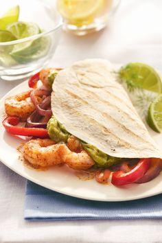 A spicy shrimp marinade for restaurant-quality fajitas!