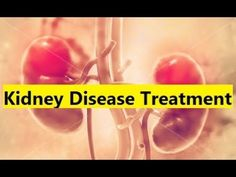 Kidney Disease Treatment - Natural Remedies for Kidney Disease #KidneyDisease