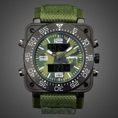 Ebay Herrenuhren INFANTRY Herren Quarz Digitaluhr Armbanduhr Uhr Chronograph Alarm Camo Flieger%#Quickberater%