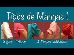 COMO HACER MANGA DRAPEADA - YouTube