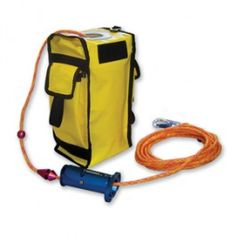 Safer Search Device System. This system aides in conducting team searches when conditions such as building construction, layout, and/or inherent hazards are beyond the scope of the ordinary search techniques. It includes a search rope with direction and distance markers every 25', a stuff bag, and a Safer Search Device (SSD) that slides along the rope and automatically locks in place. The SSD has attachment loops for tag lines, to provide connection point for multiple rope operations.