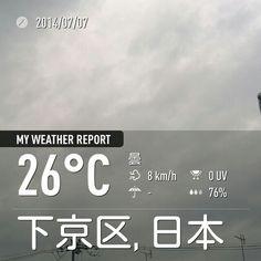 台風8号接近中。