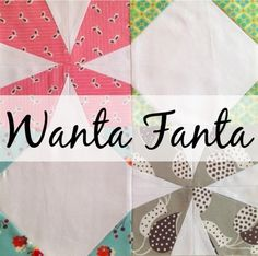 The Bee Hive: Wanta Fanta | Blossom Heart Quilts