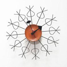 George Nelson Small Pretzel clock Designed 1952 Model no. 4775 Howard Miller Clock Company
