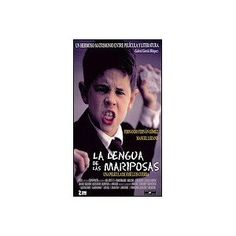 "La Lengua de las Mariposas--I chose this film for my daughter's ""enrichment experience"" in her Spanish class. We listened in Spanish while reading English captions. About children and their teacher during the Spanish Civil War, it contains the commands and phrases that Spanish students hear in class, so this was a good first choice."