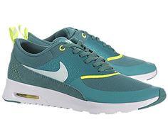 premium selection a8ed2 d3da4 Women s Nike Air Max Thea 599409 301 Mineral Teal Tl Tint Volt White  Running Running Sneaker