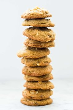 Salted Toffee Crunch Cookies
