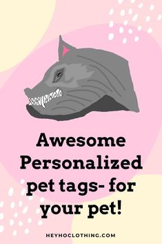 Dog Id Tags, Pet Tags, Ugly Animals, Group Boards, Cat Cards, Pet Id, Pet Gifts, Funny Dogs, Life Is Good