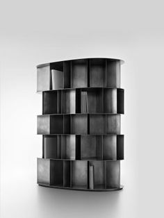 Collection.Anteprime.900x1200 Existence BW Cabinet Furniture, Furniture Design, Waves After Waves, Hard Metal, Things That Bounce, Shelves, Bookcases, Retail, Collection