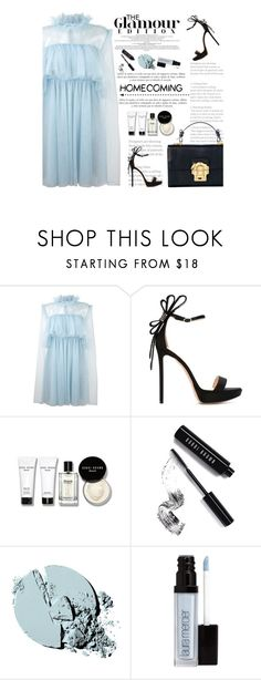 """""""Homecoming Style"""" by amimcqueen ❤ liked on Polyvore featuring MSGM, Nicholas Kirkwood, Sinclair, Bobbi Brown Cosmetics, Stila and Laura Mercier"""