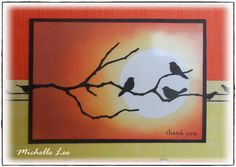 memory box branch branch die cut | Bizzy Becs Store Blog: October Challenge