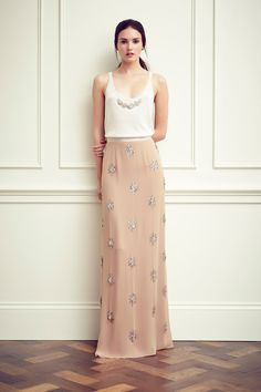 Jenny Packham. Perfect for a more casual bridal party.