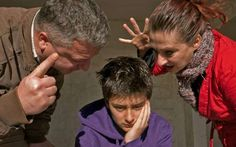Upset teenager and family. Mother and father raise the noise and clamor, threate , Accusations, Mother And Father, Psychology, Preschool, Parents, Feelings, Children, Annoyed, Decoration