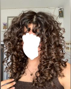 Haircuts For Curly Hair, Curly Hair Tips, Curly Hair Care, Wavy Hair, Dyed Hair, Curly Hair Styles, Curly Long Hair Cuts, Highlights Curly Hair, Cut My Hair