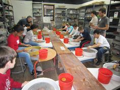 , Have a Pottery Party at BrickHouse for any occasion. , Have a Pottery Party at BrickHouse for any occasion. Everyone will have a great time! Pottery Classes, Ceramic Studio, Ceramic Artists, Ceramics, Party, Ceramica, Pottery, Ceramic Art, Clay Crafts