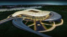 2018 FIFA Dünya Kupası için Stadyum Tasarımı