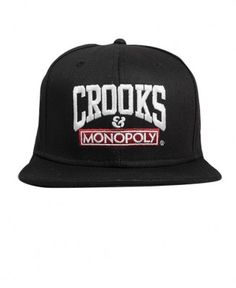 Crooks & Castles - Time Is Money Snapback Cap - $30