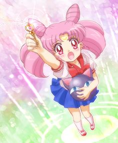 Sailor Mini moon (Rini) images Chibi Moon Images wallpaper and background photos