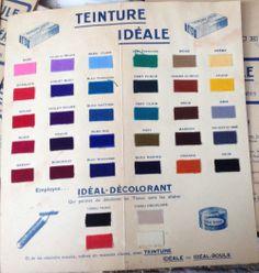 1000 images about teinture ideal on pinterest paris - Teinture textile ideal ...