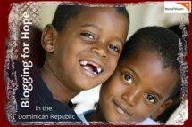 World Vision - trip to DR