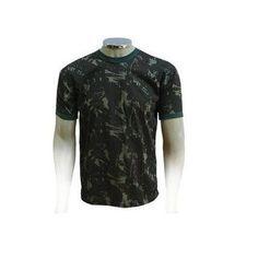 Camiseta Camuflada Miitar Malha Algodão Paintball Airsoft - América Tático Aventura Artigos Militares Aventura Esportes Radicais e Camping.