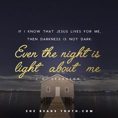Even the night is light about me