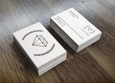 Tarjetas de visita para Polonia - joyería de Autor - #work #business #logo #branding #business #cards #tarjetas de #visita #Polonia #joyeríadeautor #planning #marca #producto #blackandwhite