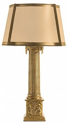 Ionic Table Lamp by @ebanistacollect