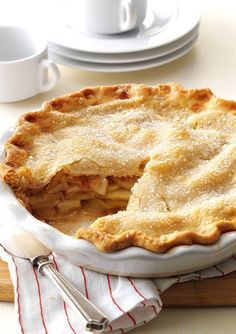 Looking for the perfect apple pie recipe? You won't be able to stick to one slice of this classic pie.