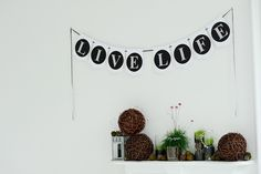 Banners by Cardamama Event Decor, Live Life, Banners, Awards, Posters, Banner