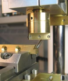 Micro milling machine using fly cutter to mill dove tail. Check out the small clamps for the miniature toolmakers vise (my small toolmaker vise did not have the side slots http://www.pinterest.com/pin/421931058812056192/)