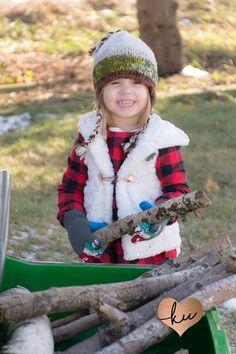 Winter Mini Session- Lumberjack!