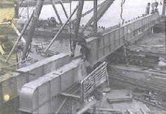 herbouw wilhelminabrug 1945