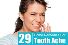 Toothache is a painful condition that results from many causes. Apart from visiting a dentist, you can also try these home remedies for tooth ache enlisted in this article.