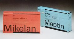 Vintage Packaging – Pharmaceutical | Lovely Package