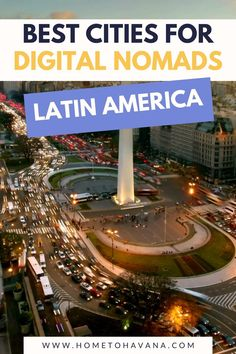 The complete guide to living as a digital nomad in Latin America. While there are a few massive digital nomad hubs in South America and digital nomad hubs in Central America (like Mexico City and Medellin), there are so many other digital nomad cities in Latin America to explore. Check out this complete guide to see the best places to live as a digital nomad.